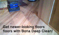 Bona Deep Clean System results